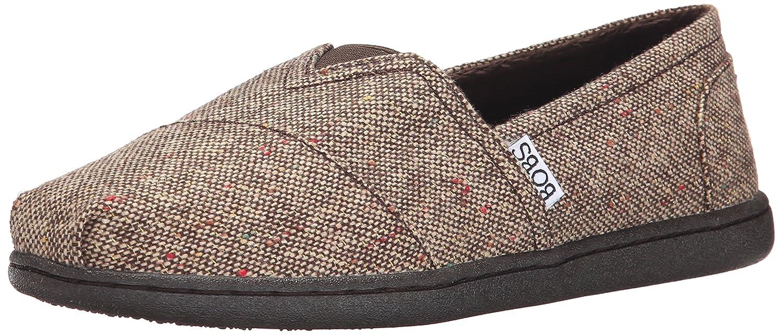 Skechers Bobs Womens Bliss Fashion Slip-On Flat  10 B(M) US|Braun, Gewebt