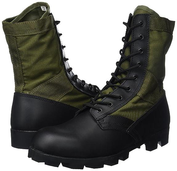 Mil Tec Us Jungle Combat Boots Olive by Mil Tec