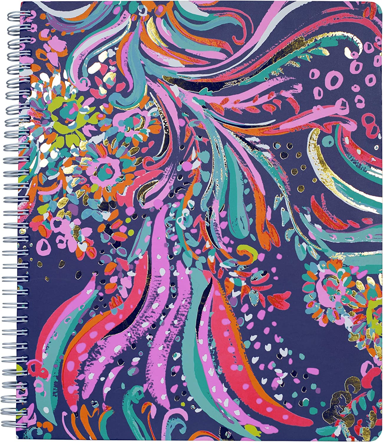 Lilly Pulitzer Women's Large College Ruled Notebook with 160 pages (Beach Loot)