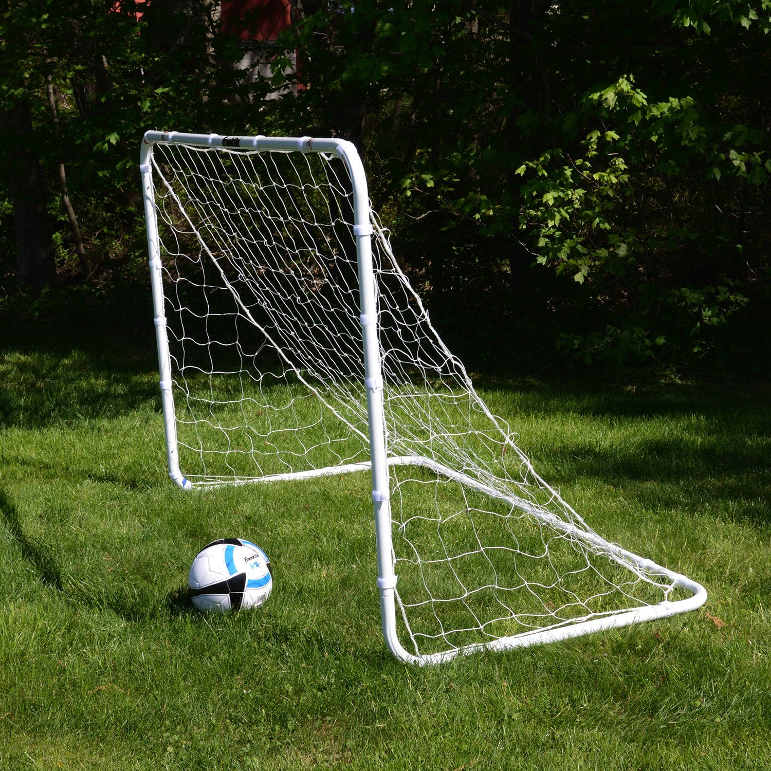 Franklin Sports Competition Soccer Goal – Soccer Net – Soccer Goal for Backyard – Steel Construction – 6 Ft by 4 Ft by Franklin Sports (Image #4)