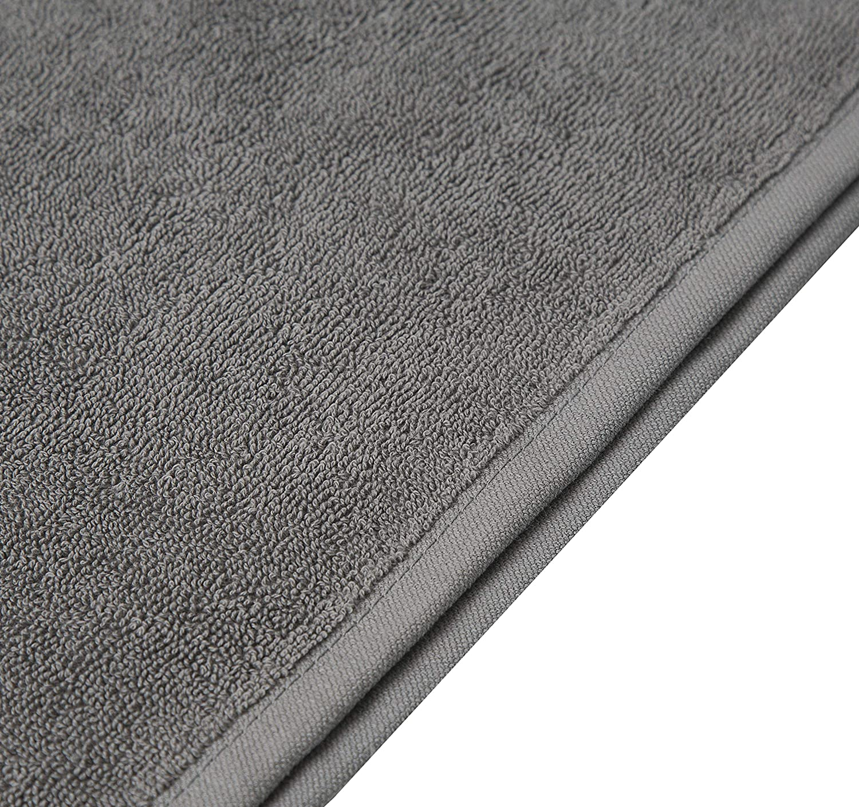 Pleasant Home algod/ón 4 Pack Bath Sheet Blanco 500 g//m/² Toalla de ba/ño Profesional