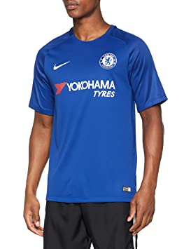 Nike CFC M Nk BRT Stad JSY SS Hm Camiseta 1ª Equipación Chelsea FC 17-18, Hombre: Amazon.es: Deportes y aire libre
