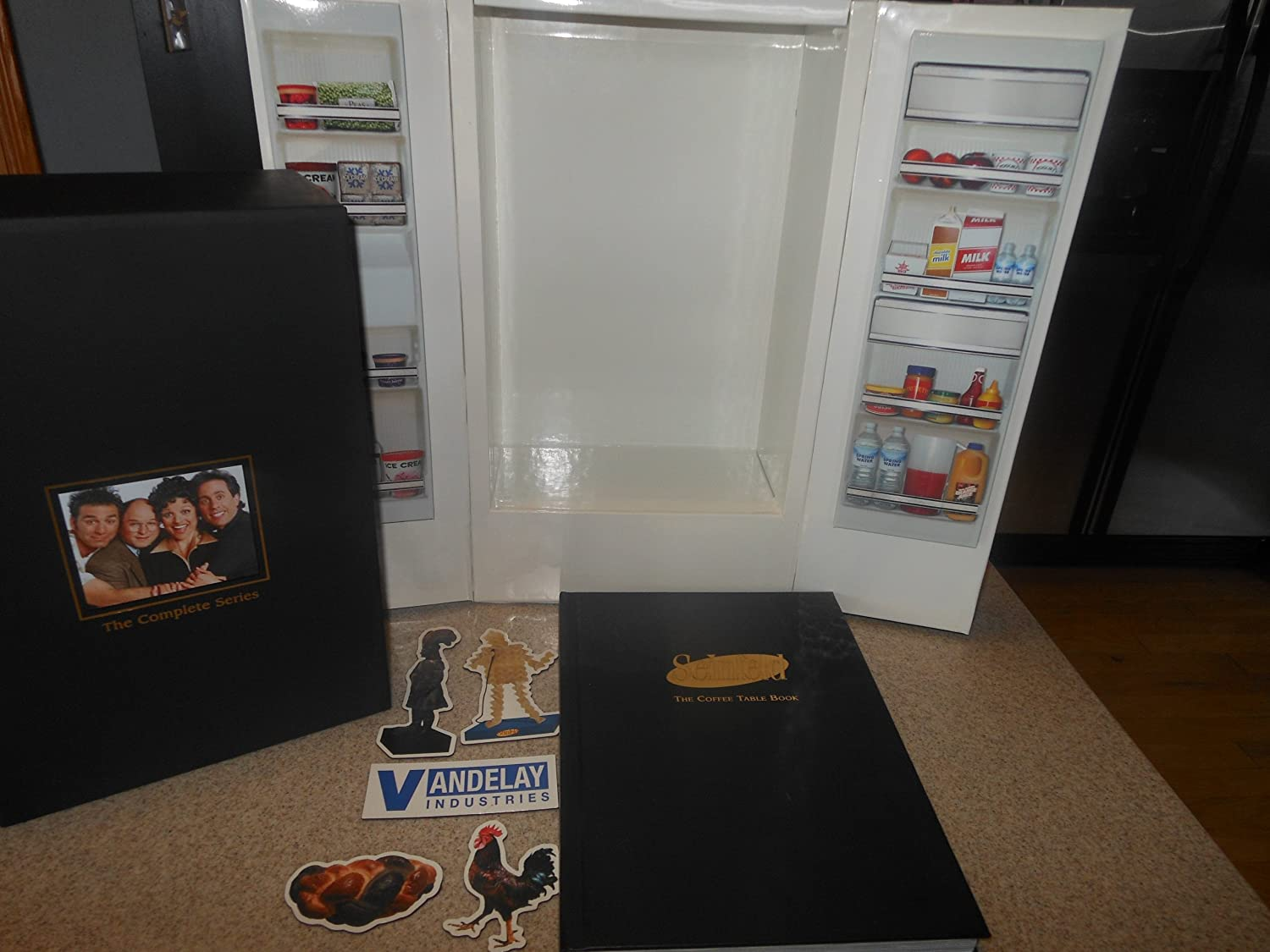Amazon seinfeld the complete series exclusive limited amazon seinfeld the complete series exclusive limited edition refrigerator replica packaging exclusive magnets official coffee table book and geotapseo Image collections