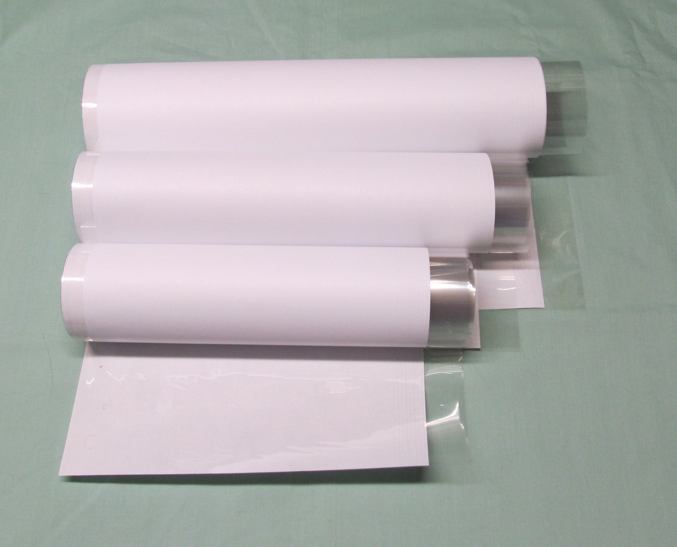 30 Yards Brodart Just-A-Fold III Archival Book Jacket Covers LARGE Roll Combo - 10, 12 & 14''