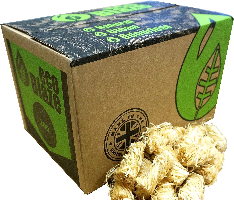 200 Box EcoBlaze Natural Firelighters