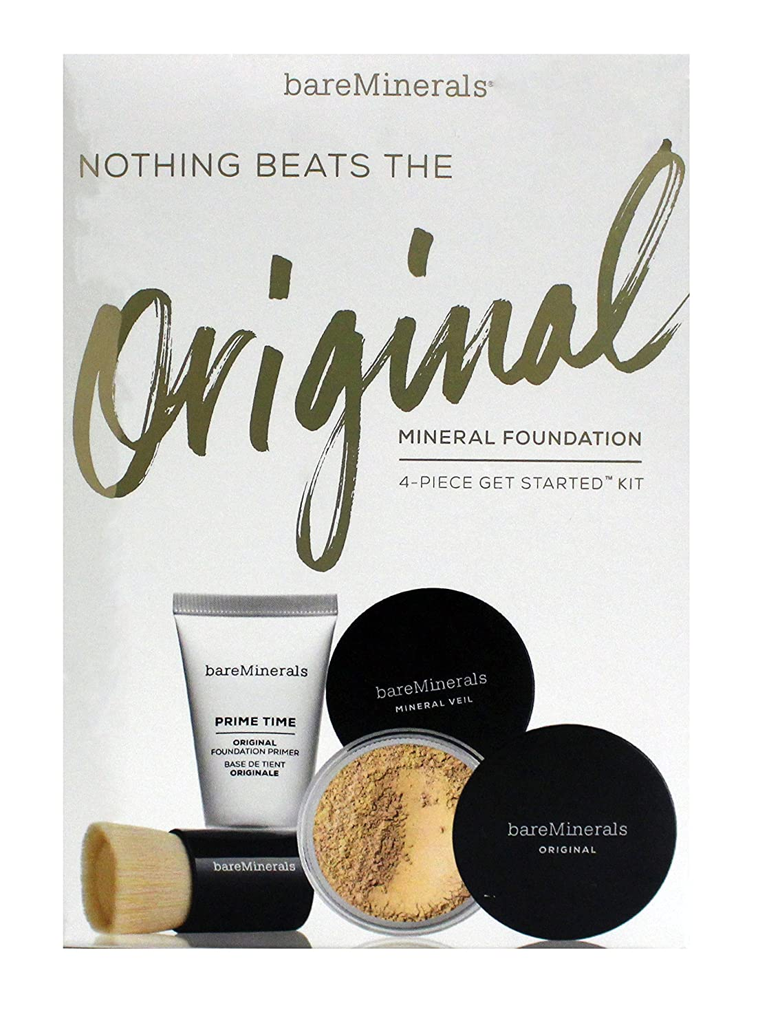 Bare Minerals Nothing Beats Org Gsk Fairly Light Set,, 0.16 Ounce
