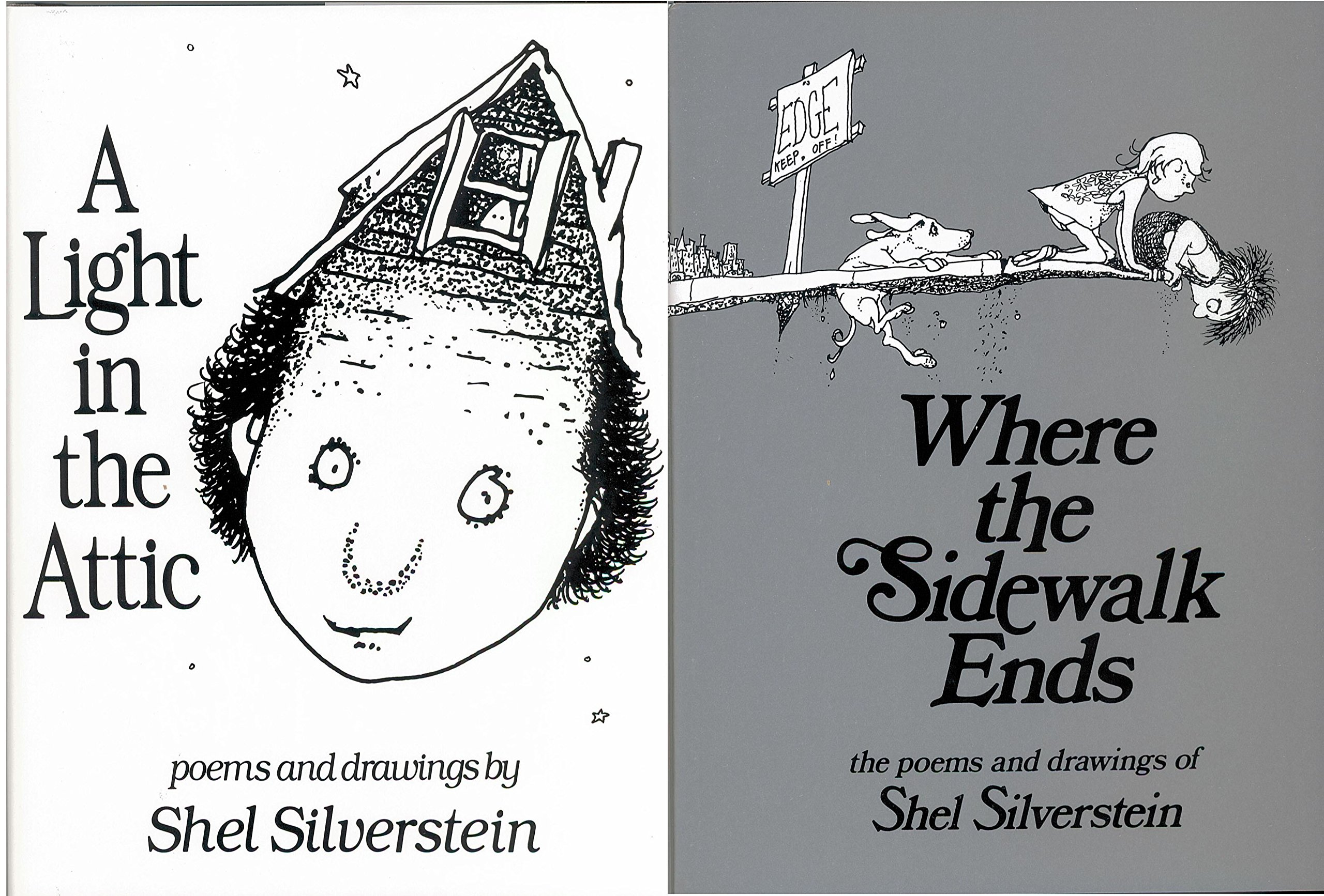 Shel Silverstein Pack 2 Book Set: Where the Sidewalk Ends and A Light in the Attic ebook