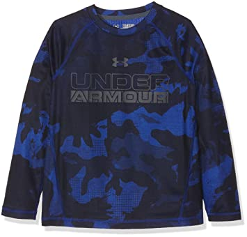 4b458d7fc37 Under Armour Boys  Infrared Long-Sleeve Shirt  Amazon.co.uk  Sports ...