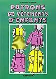 Patrons de vêtements d'enfants, CAP-BEP