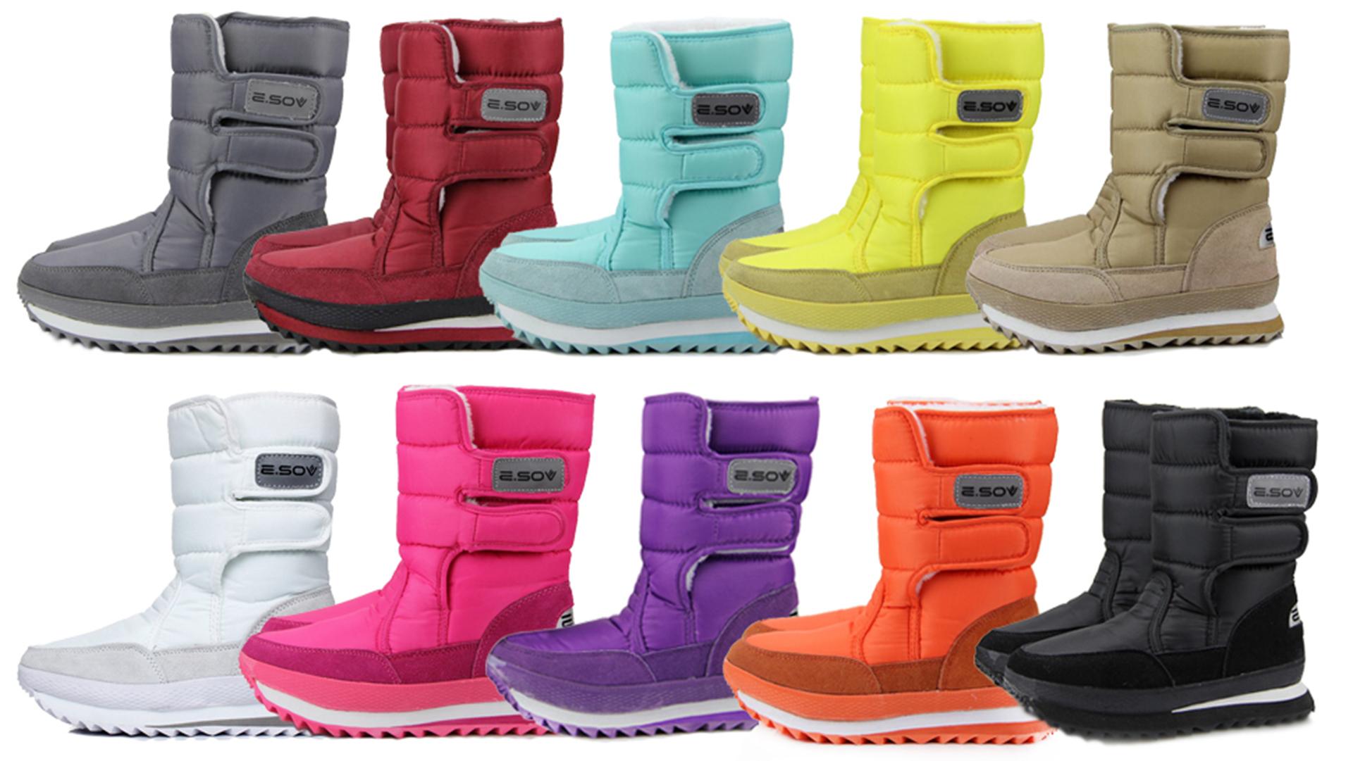 XIANV Women Snow Boots Anti-Slip Soles