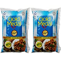Gold Medal Agmark Gingelly Oil, 1.2 Litre ml (Pack of 2)