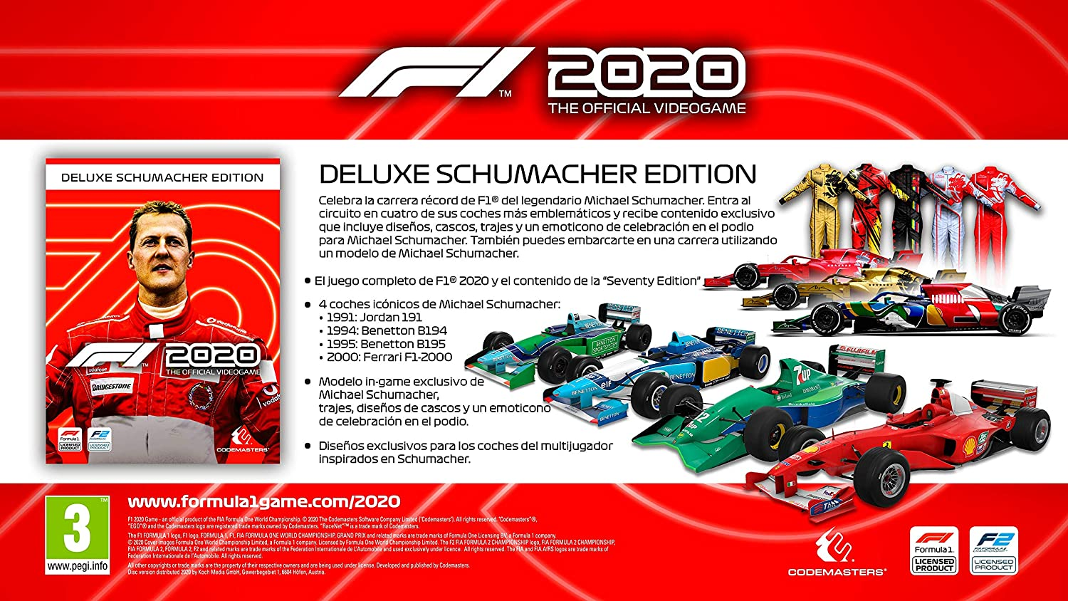 Deluxe Edition Michael Schumacher