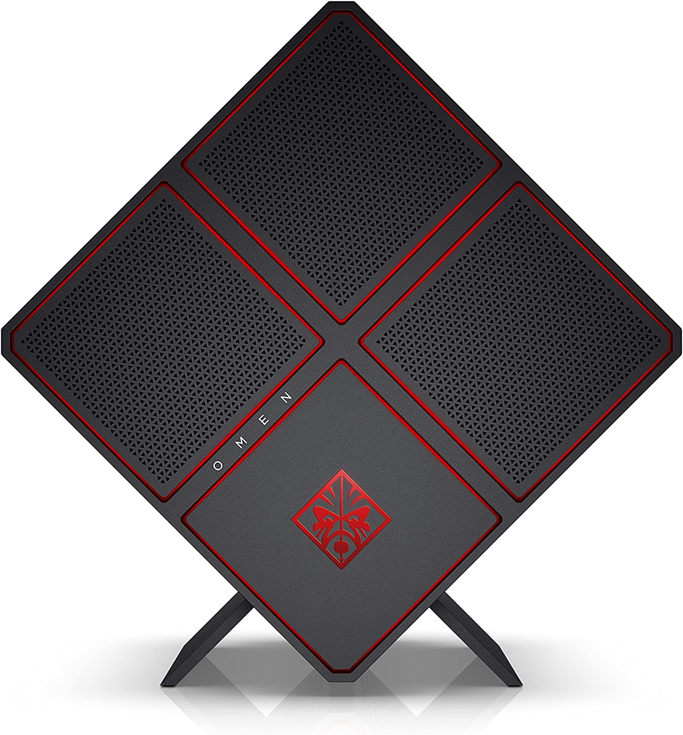 OMEN X by HP Gaming Desktop Computer, Intel Core i7-7820X, NVIDIA GeForce GTX 1080, 16GB RAM, 2TB hard drive, 512GB SSD, Windows 10 (900-210, Black)