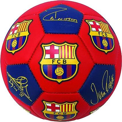 FC Barceona firma los jugadores de balón de fútbol, tamaño # 5 ...