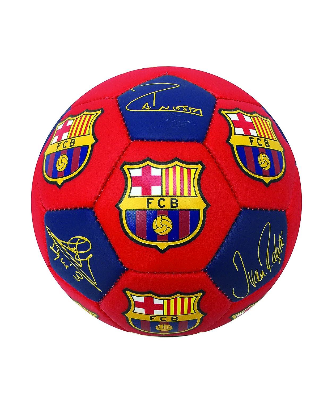 FC Barceona署名選手サッカーボール、サイズ# 5、# 4と# 2、メッシ、イニエスタ、スアレス、Busquets、ピケ、Rakitic、署名と他のバルセロナ選手 B076H71QFBSize 5