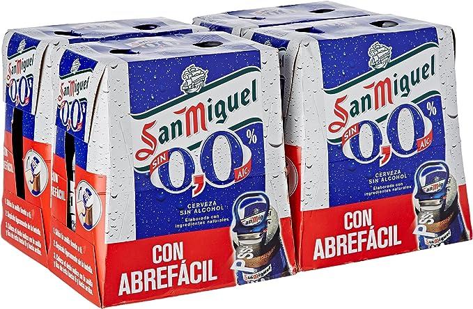San Miguel Cerveza Sin Alcohol - Paquete de 24 x 250 ml - Total: 6000 ml: Amazon.es: Alimentación y bebidas
