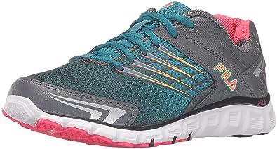 0367fcfa0837 Fila Women s Memory ARIZER Running Shoe Castle Rock Biscay Bay Diva Pink 6 M