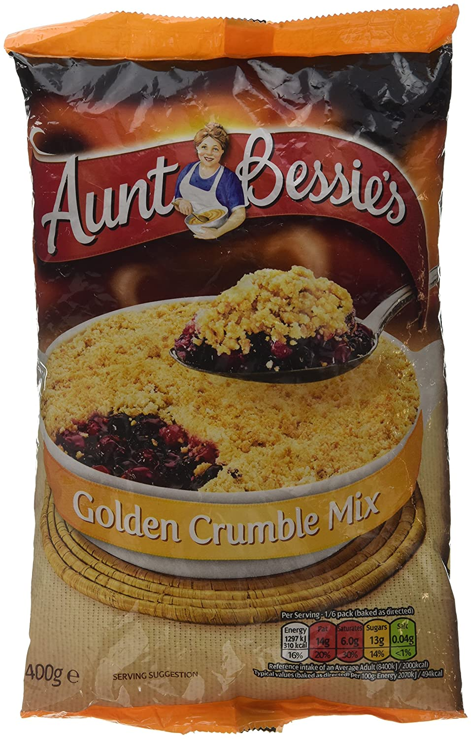 Aunt Bessies Golden Crumble Mix - 4 Paquetes de 400 gr - Total ...