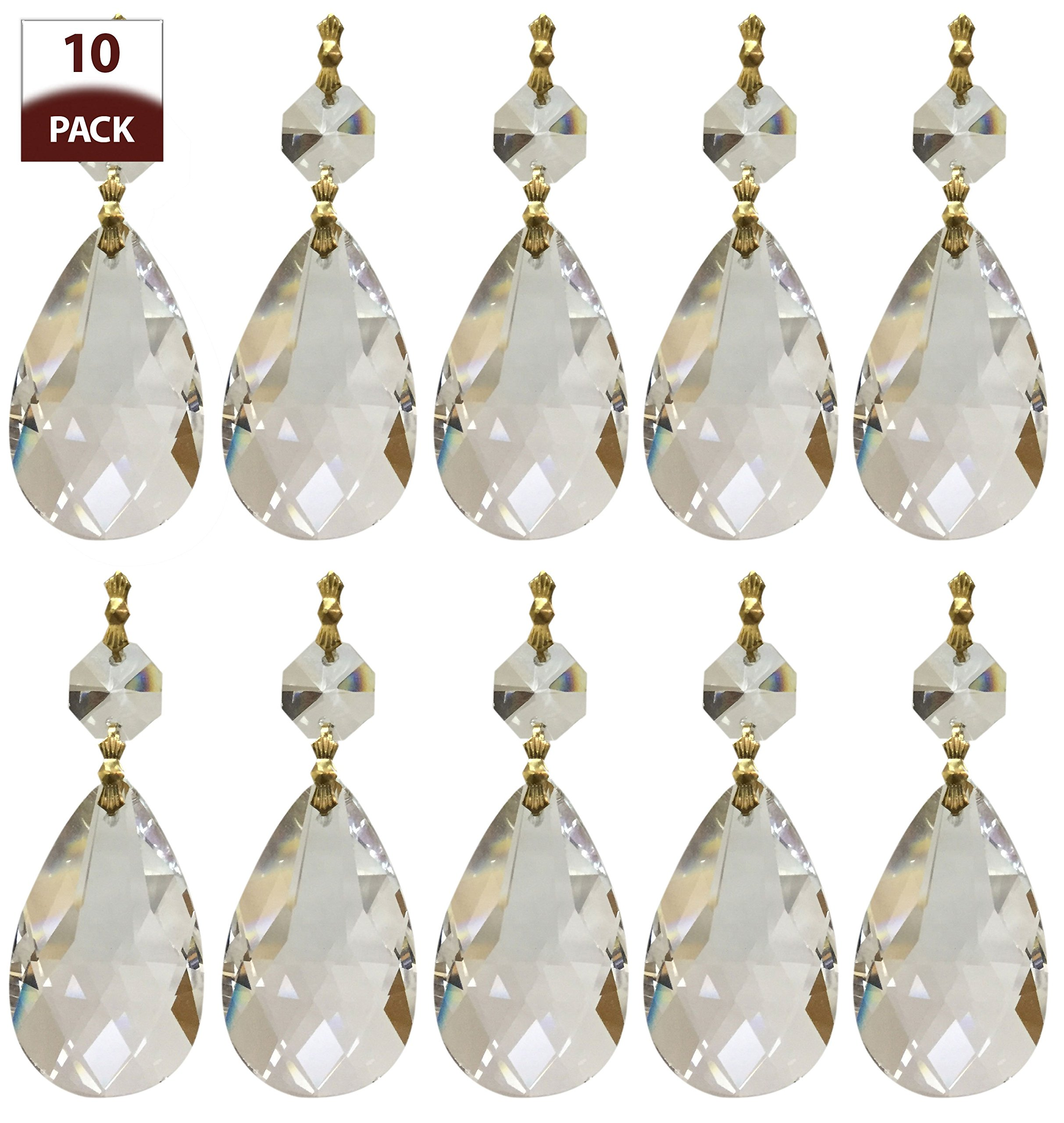 Royal Designs Replacement Chandelier Crystal Prism Clear