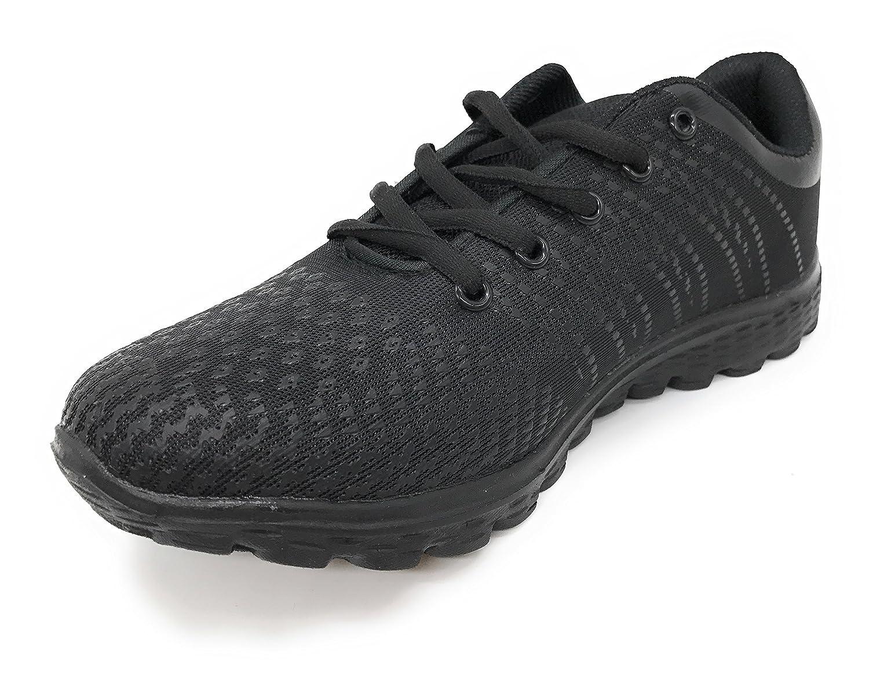 Blue berry EASY21 Women's Fashion Sneaker Breathable Athletic Sport Running Tennis Shoes B072K3F1L9 37 M EU|All Black