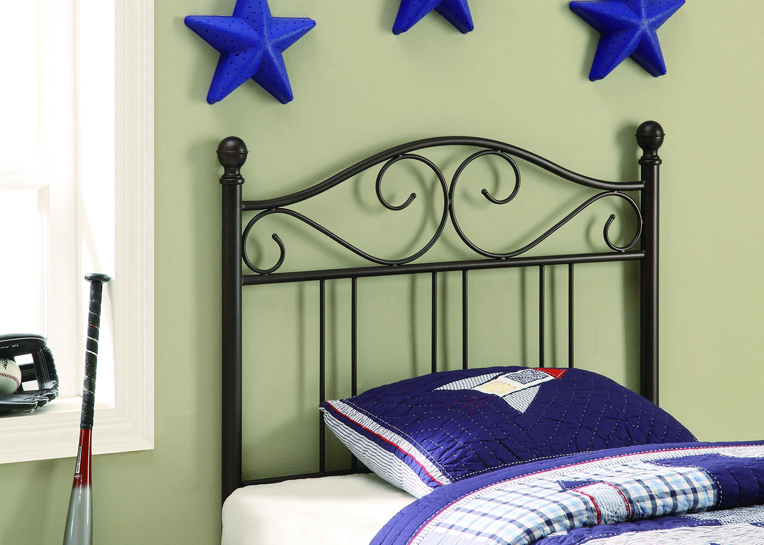 Twin Headboard Dark Bronze by Coaster Home Furnishings