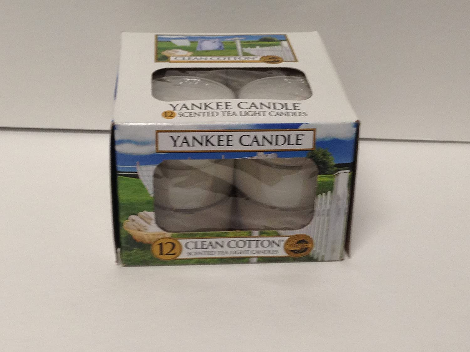 Yankee Candle Touffu Towles lumignons 12st 118 G