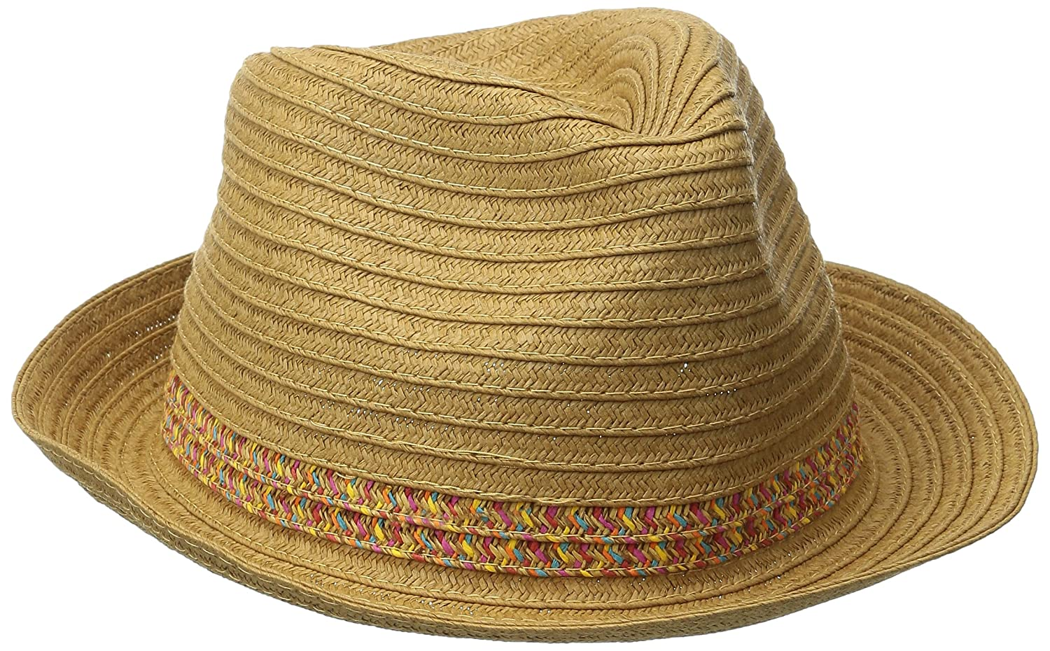 San Diego Hat Company Womens Panama Hat with Contrast Inset