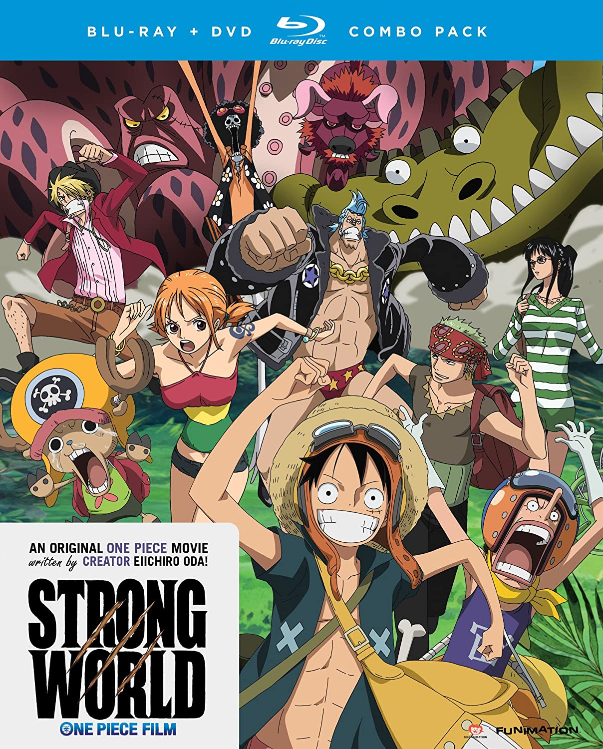 Amazon.com: One Piece: Strong World [Blu Ray]: Colleen Clinkenbeard, Eric  Vale, Luci Christian, Mike McFarland: Movies U0026 TV
