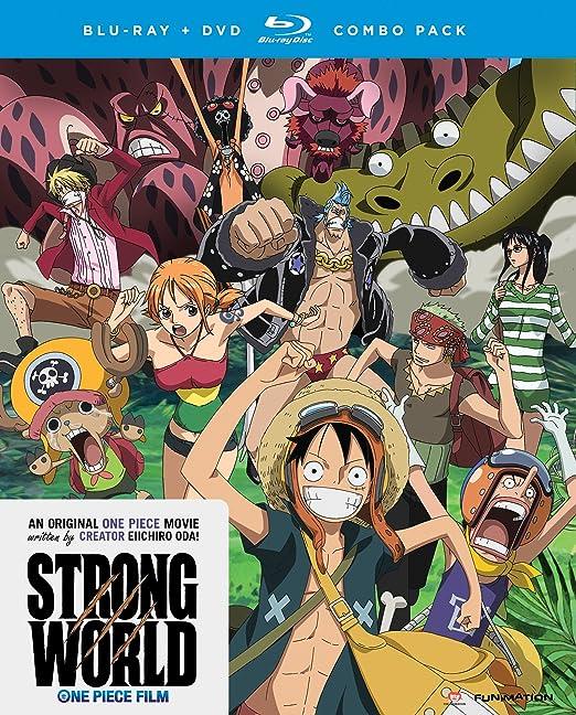 One Piece: Strong World Edizione: Stati Uniti Reino Unido Blu-ray ...