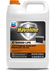 Havoline Xtended Life Antifreeze/Coolant Pre-mix 50/50- 1 Gallon (Pack of 6)