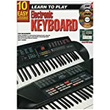 10 Easy Lessons - Learn to Play Keyboard - Book, CD & DVD
