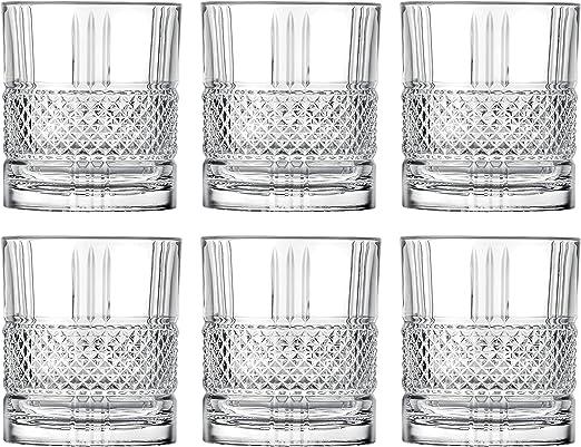 Old Fashion Tumbler Barski - Made in Europe Set of 6 Glass Set of 6-11.5 oz