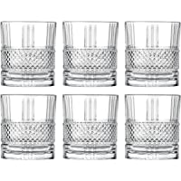 Tumbler Glass - Double Old Fashioned - Set of 6 Glasses - Designed DOF tumblers - For Whiskey - Bourbon - Water…
