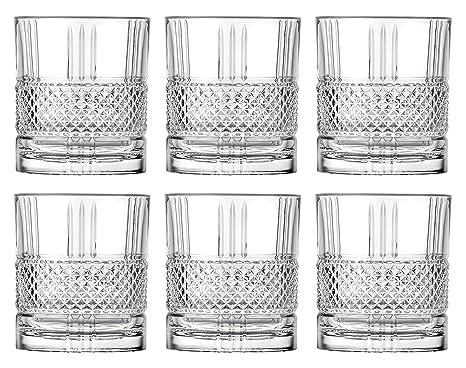 Clear Godinger 25731 Dublin Crystal Set of 12 Goblets