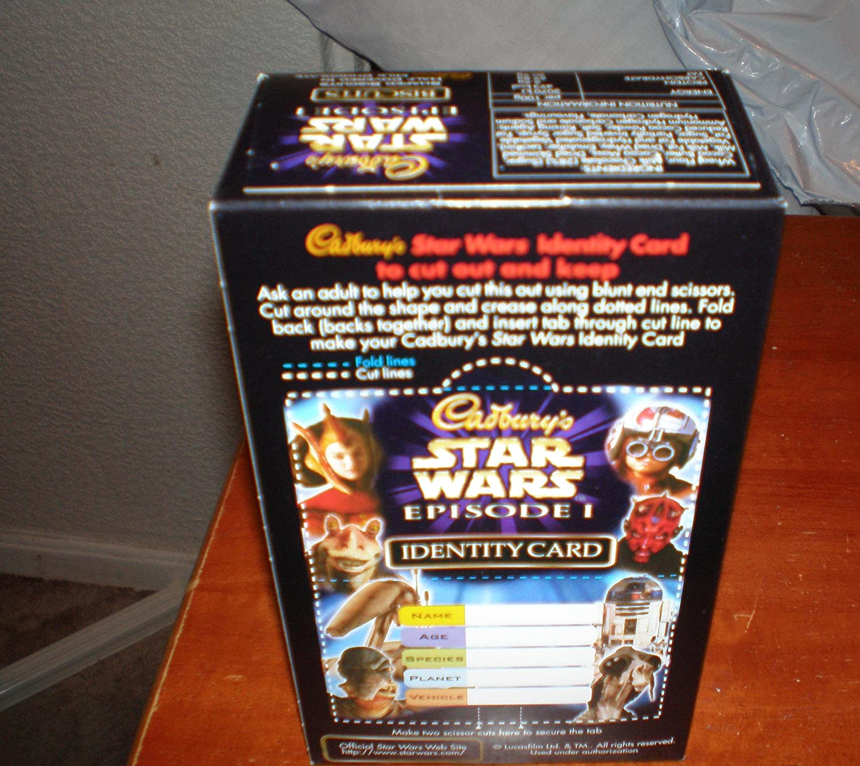 Cadburys Star Wars Biscuits the phantom menace Amazon Toys