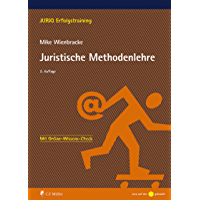 Juristische Methodenlehre (JURIQ Erfolgstraining) (German Edition) book cover