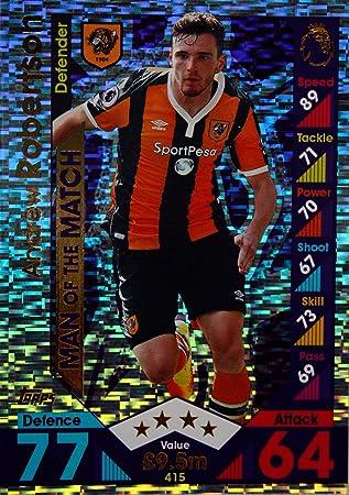 Match ATTAX 2016//17 premier League #415 Andrew robertson-Man of the match