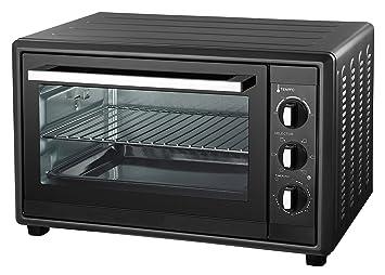 Ardes Mini horno eléctrico de convección 20 L, 1380 W, color negro