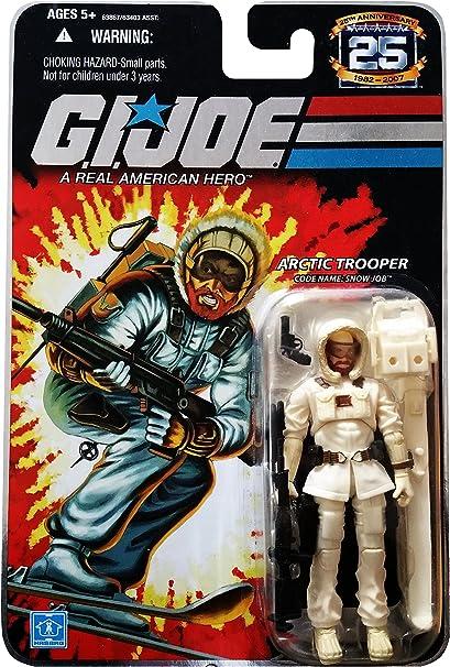 GI Joe Weapon Snow Job Modern Black Ski Pole Original Figure Accessory
