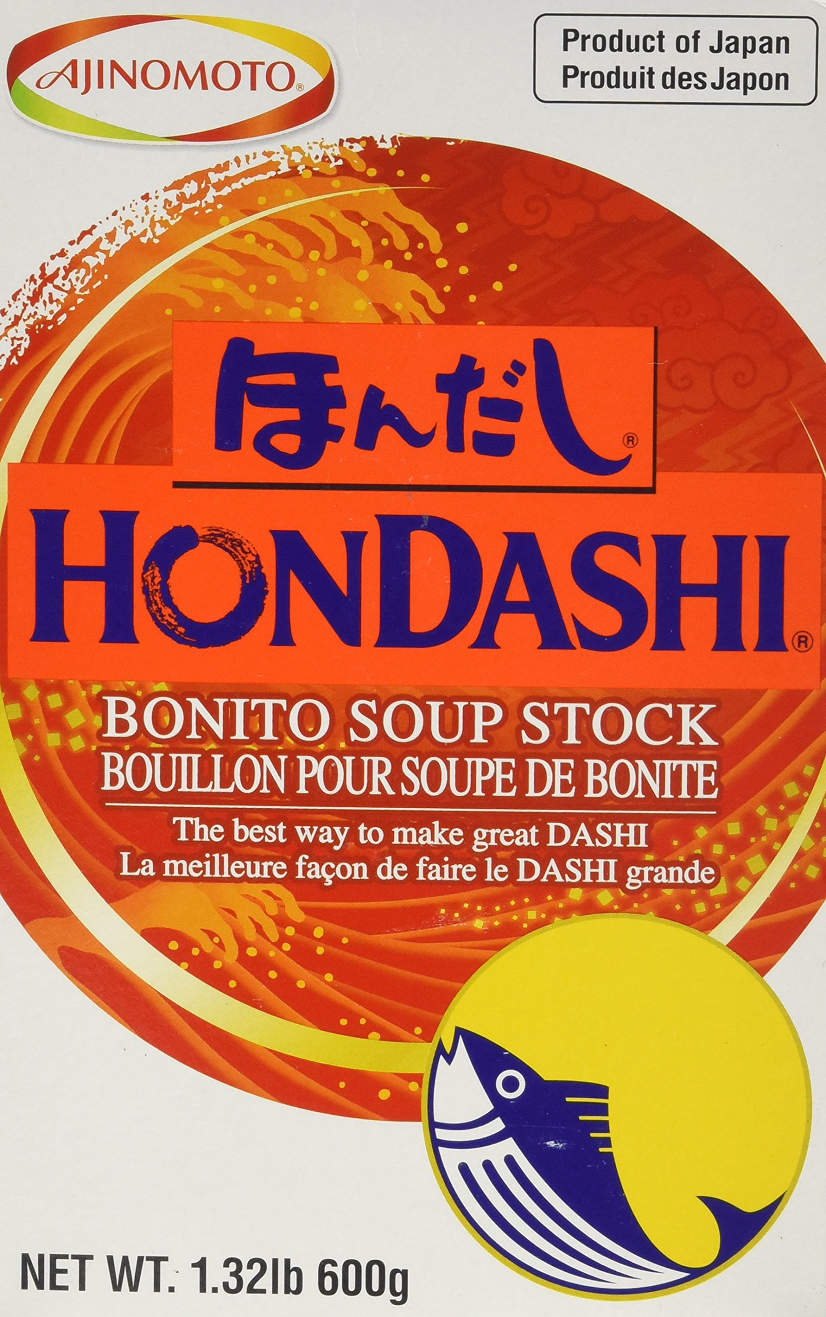 Hondashi Fish Soup Base (Soup Stock) 600g Box (1.32 pound)