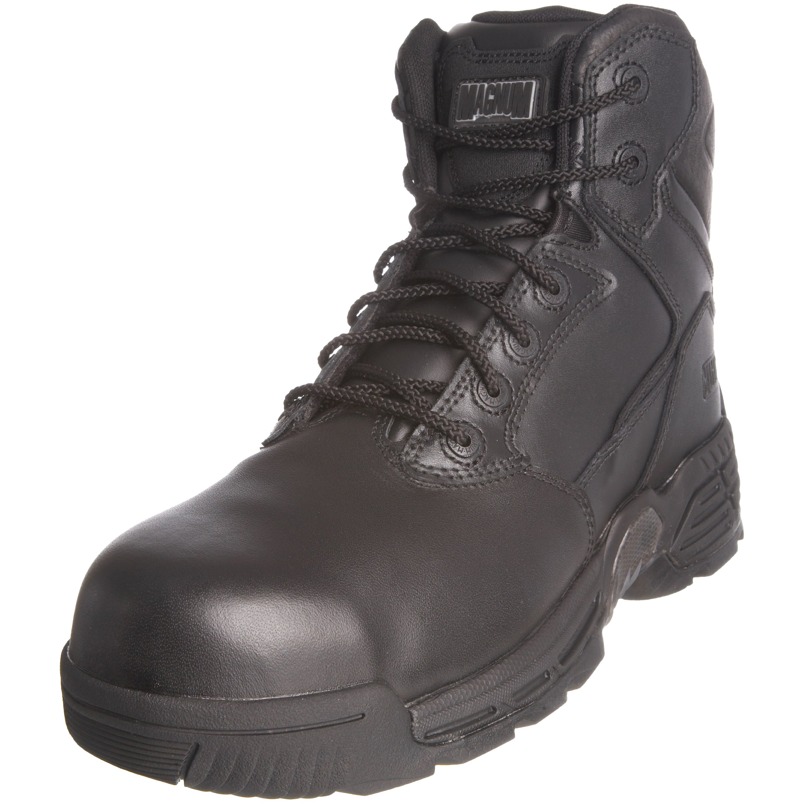 Magnum Stealth Force 6.0 CT CP Leather Boots - 10 - Black