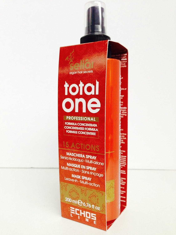 Amazon.com   Echos line Seliar Argan Total One Leave in Mask Spray  200ml 6.76oz