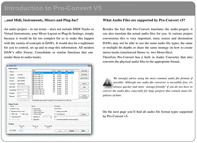 Solid State Logic Pro-Convert V5 0 (Win): Amazon co uk: Musical