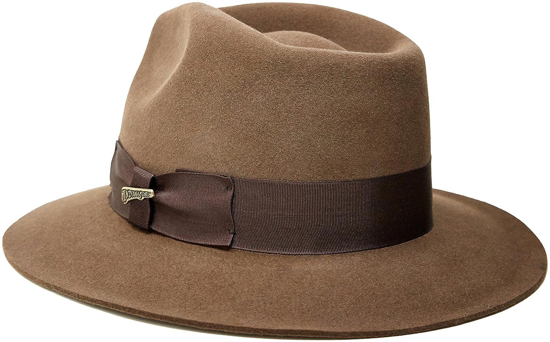ec9347c700757 ... canada indiana jones fur felt fedora at amazon mens clothing store  indiana jones hat e6b92 9f701