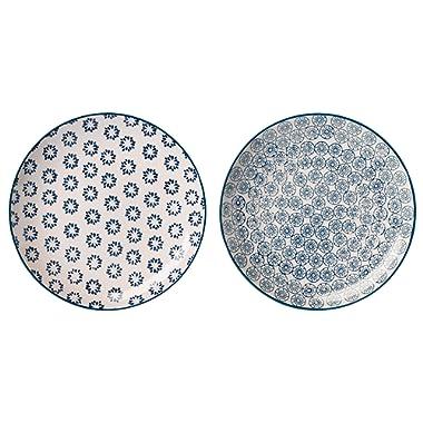 Bloomingville Plates 8'' Kristina 2 Styles
