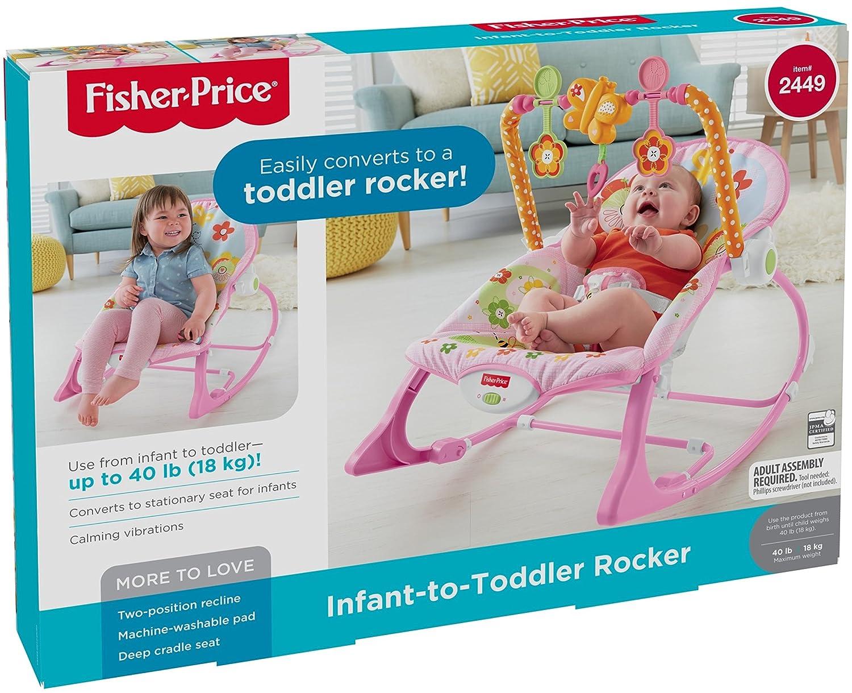 Fisher-Price Infant-to-Toddler Rocker, Bunny Amazonca/FISNE Y4544