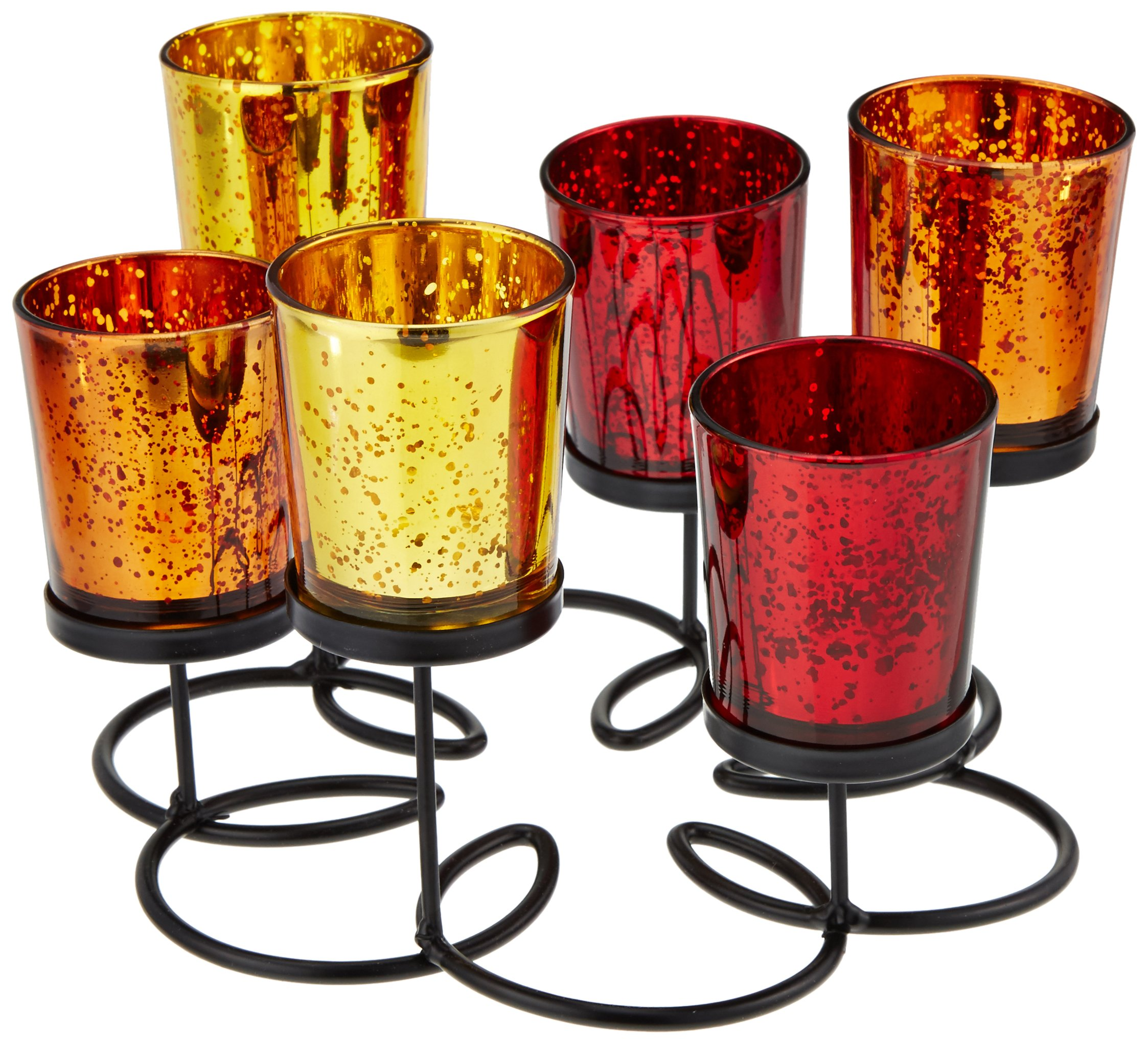 Kole Imports Decorative Wire Pedestal Candle Holder
