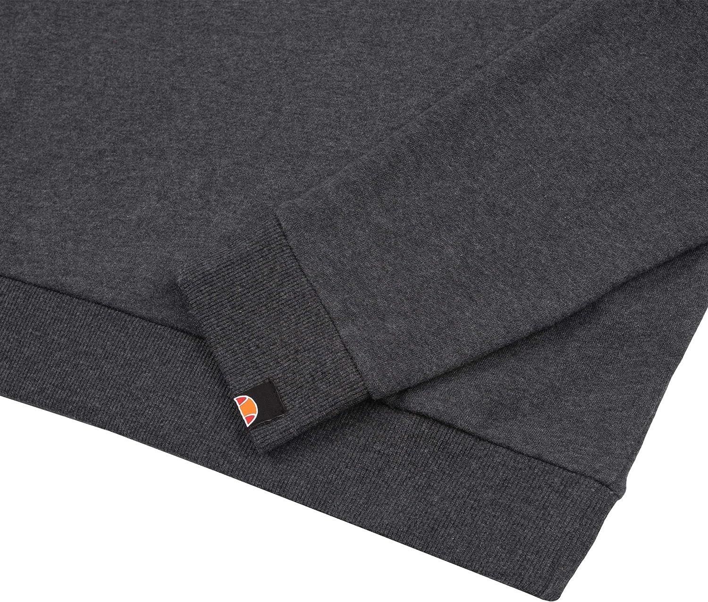 ellesse Men's Agata Sweatshirt Dark Grey Marl