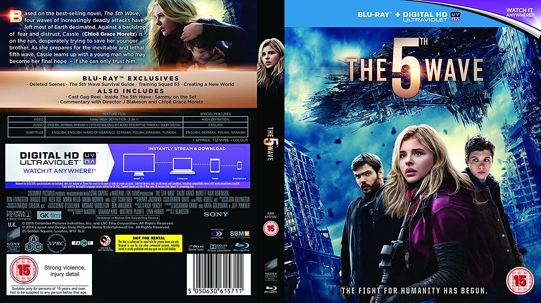 The 5th Wave [Blu-ray] [2016] [Region Free]: Amazon co uk