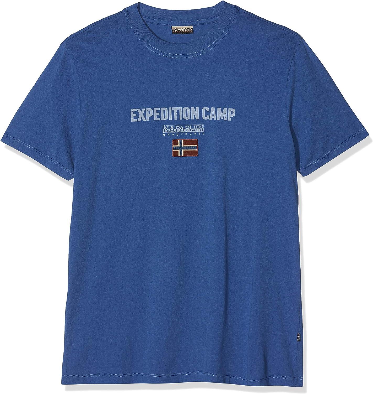 Napapijri Sonthe Skydiver Blue Camiseta para Hombre: Amazon.es: Ropa y accesorios